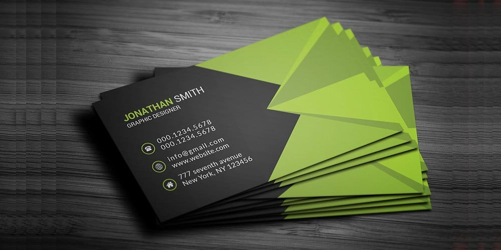 Free Corporate Business Card PSD