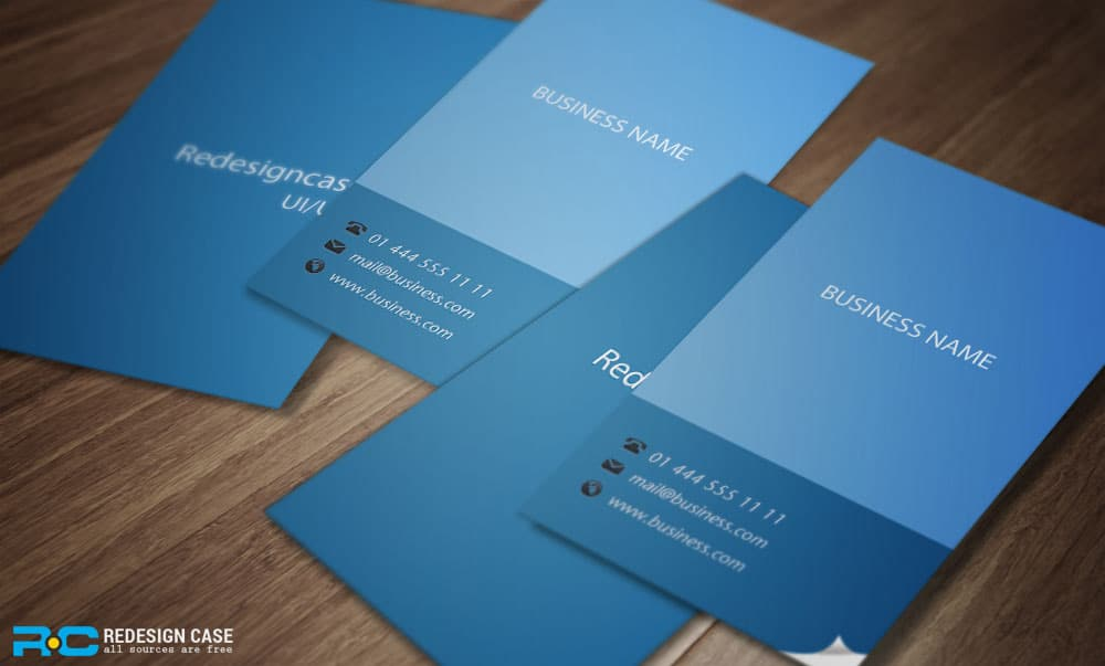 Free Flat Business Cards