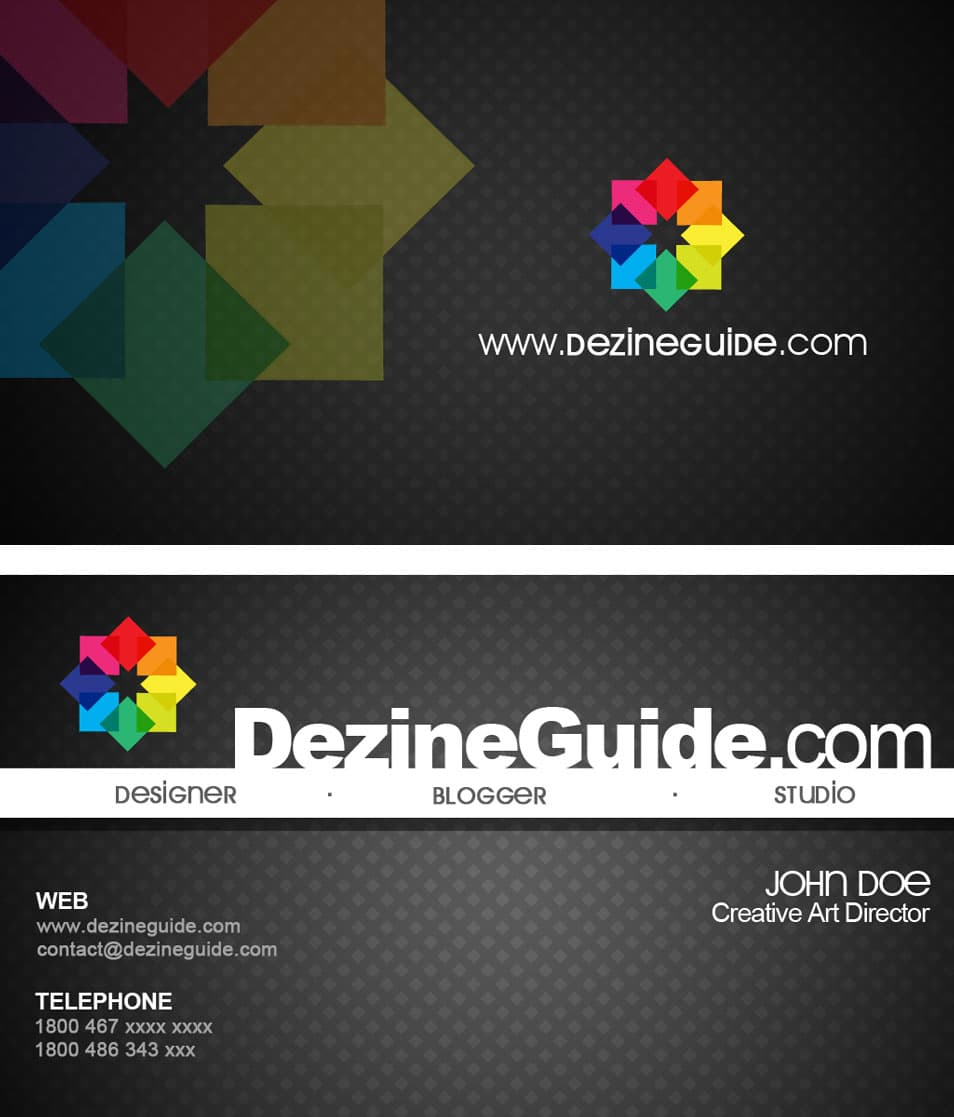 Free Modern Business Card