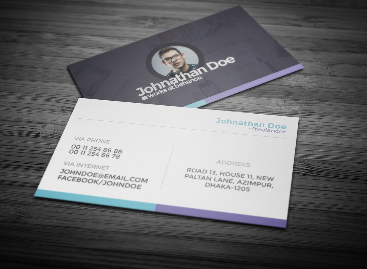 Free Personal Business Card PSD