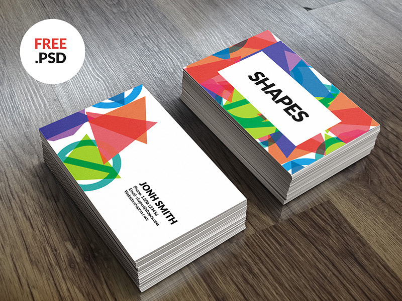Free Visiting Card PSD