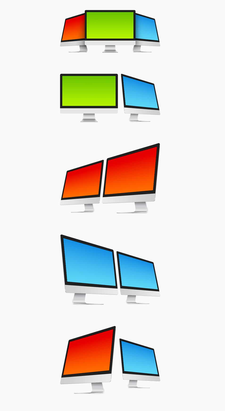 Free iMac PSD Templates PSD