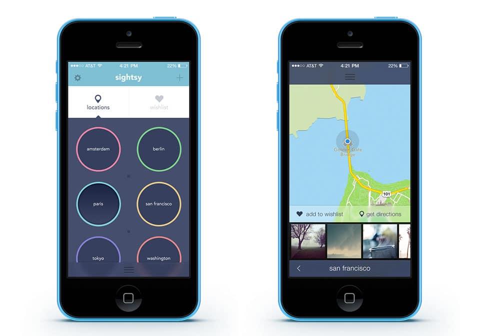 Free iOS7 app PSD