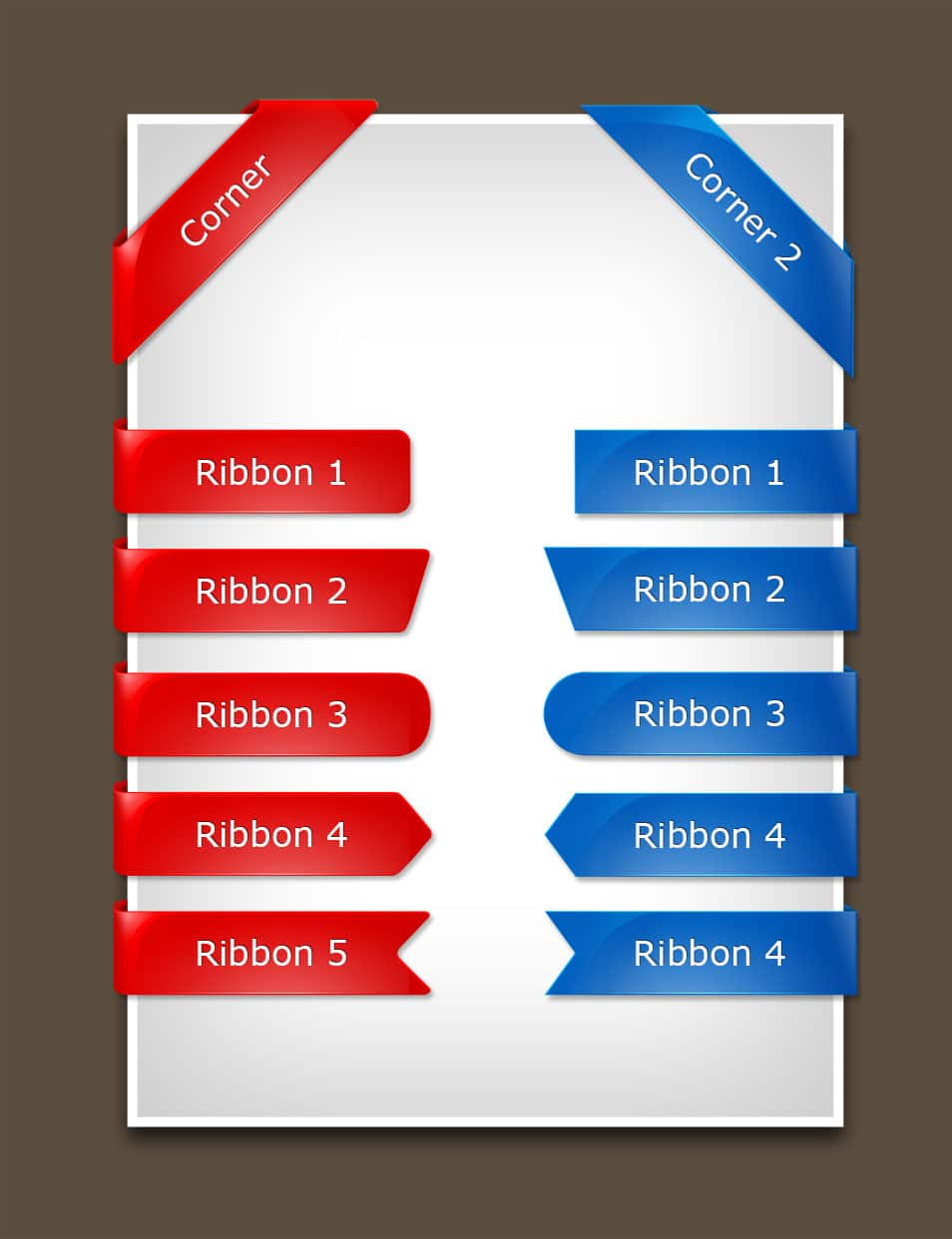 100 free ribbons psd vector files for your designs css author glossy psd ribbons baditri Image collections