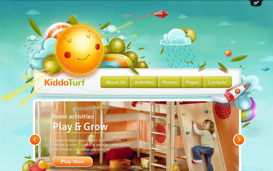 KiddoTurf – Kids WordPress Theme