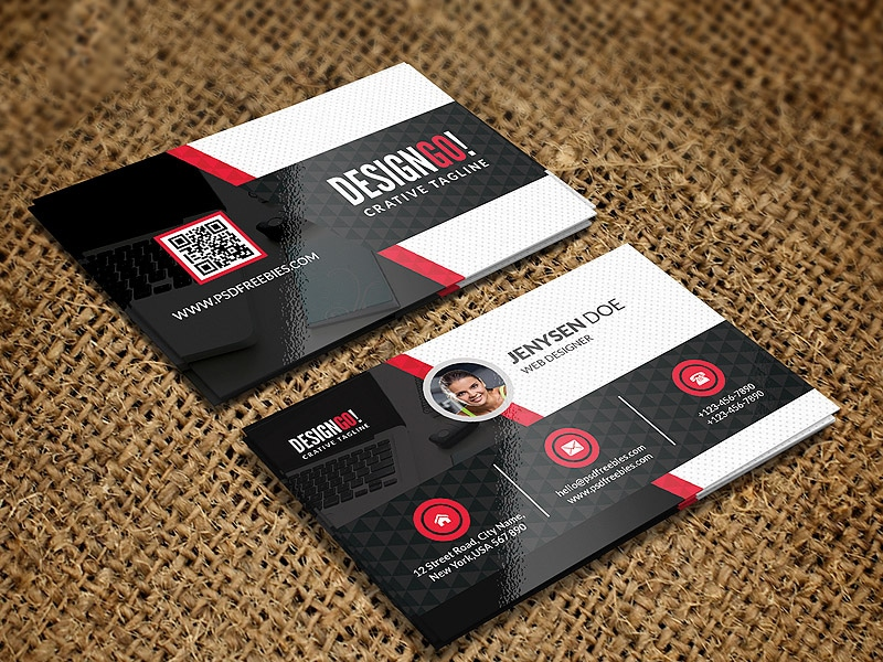 100 free business cards psd the best of free business cards for Business card photoshop template psd