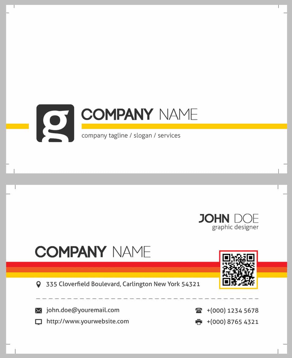 Fine create qr code business card images business card ideas modern business cards qr code images card design and card template reheart Images