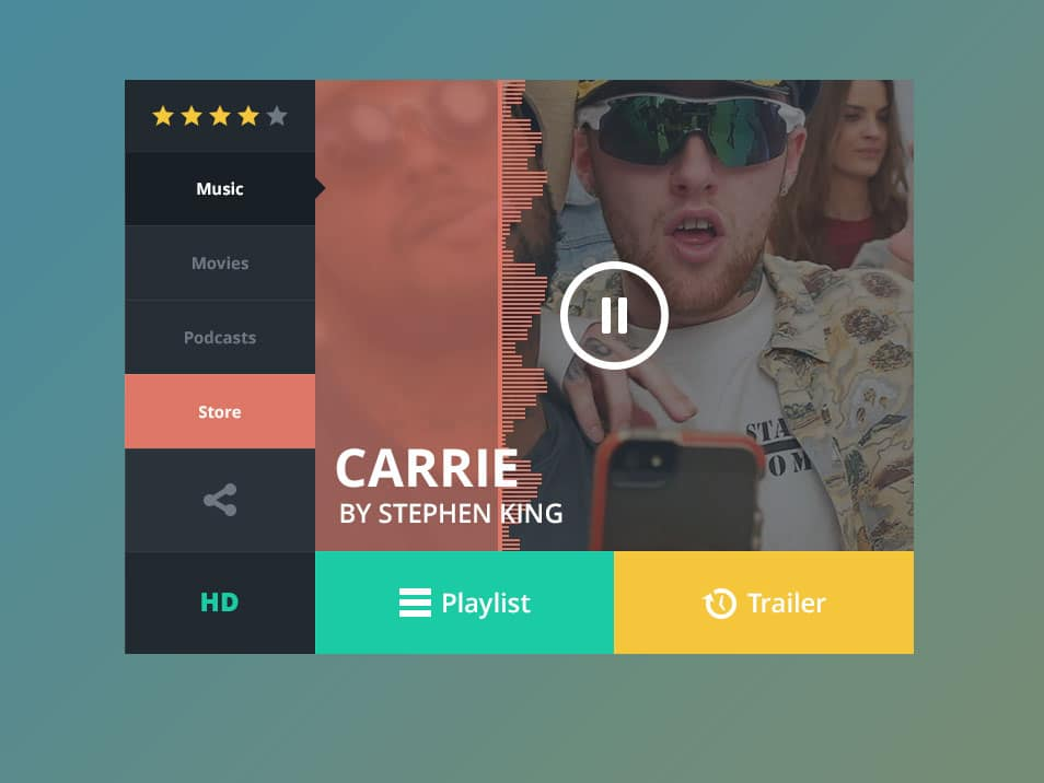 Music Widget Freebie
