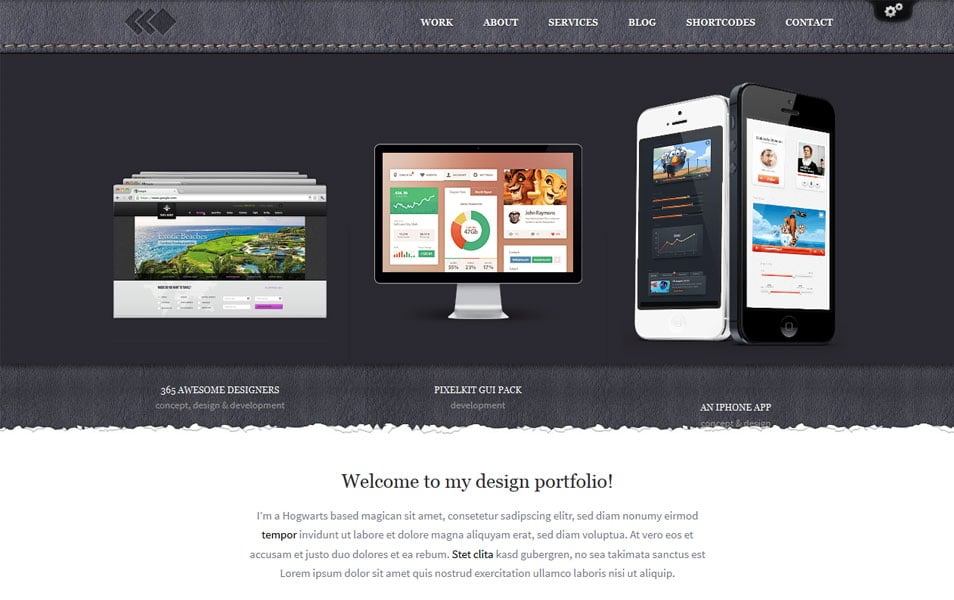 PixelWhiz - Designer WordPress Theme