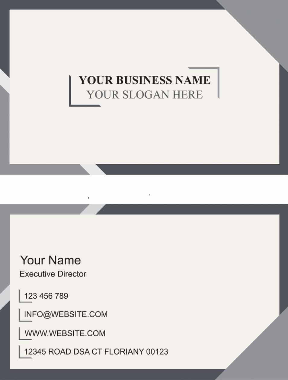 Html2014: 100+ Free Business Cards PSD