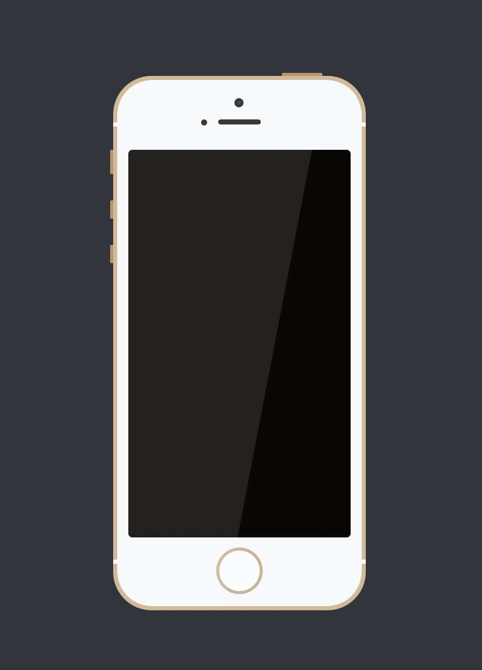 Simple iPhone 5s PSD