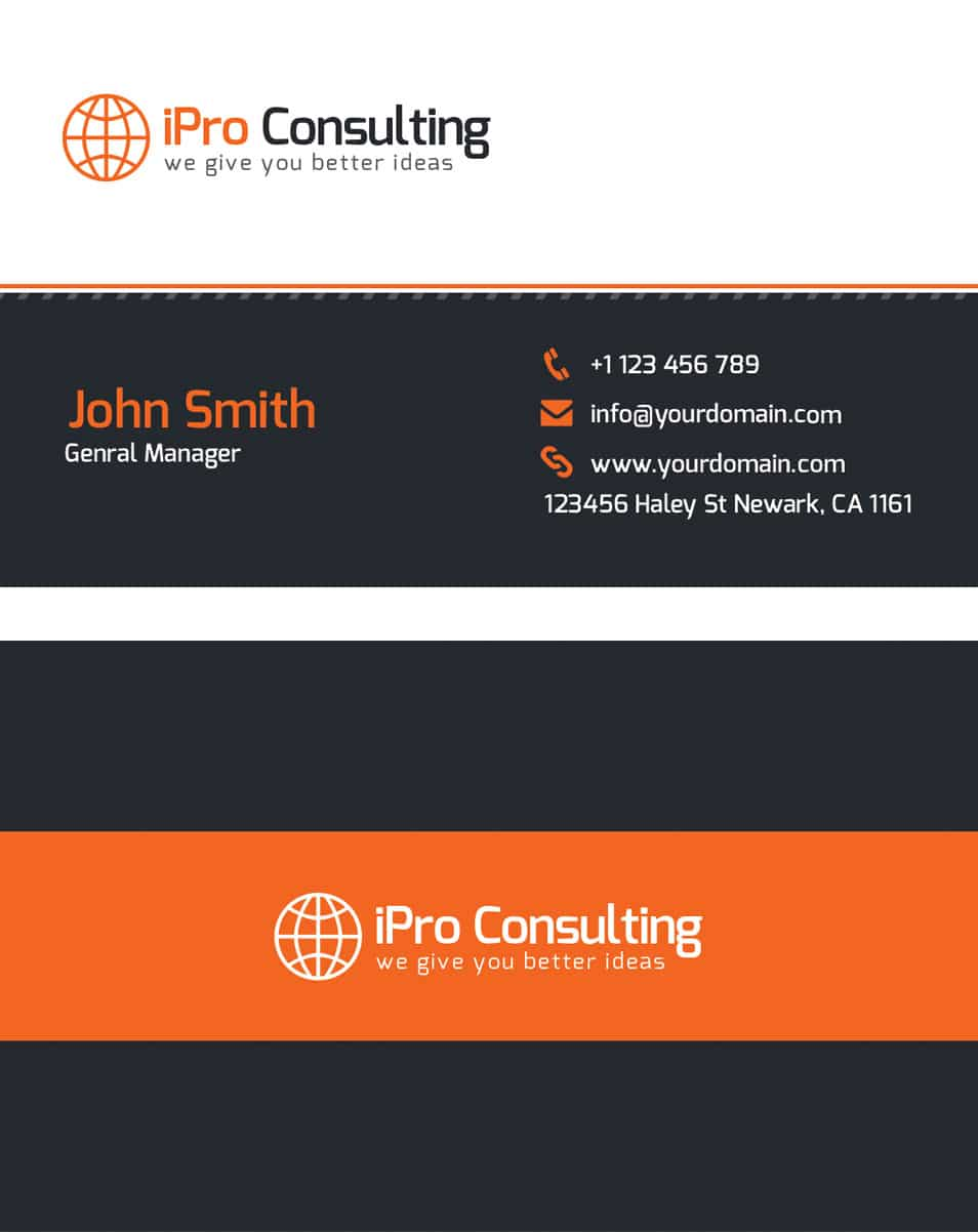 Free Psd Ipro Consulting Business Cards Gallery - Card Design And ...