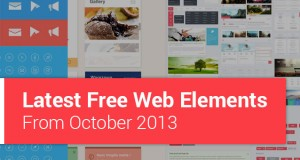 Latest Free Web Elements from October 2013