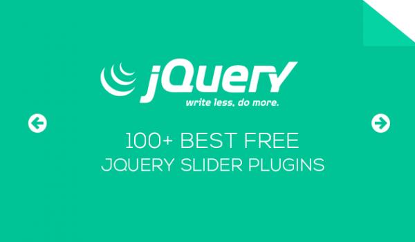 100+ Best Free jQuery Slider Plugins
