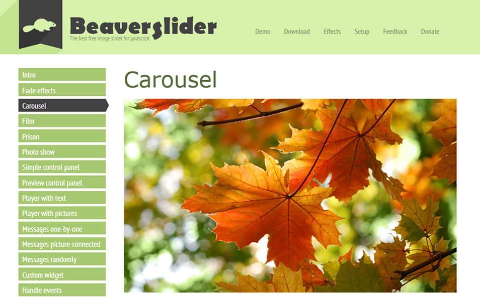 BeaverSlider