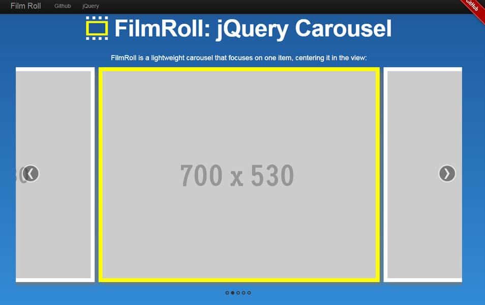 FilmRoll: jQuery Carousel