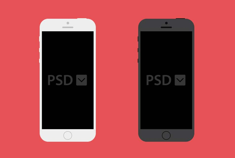 Free iPhone PSD