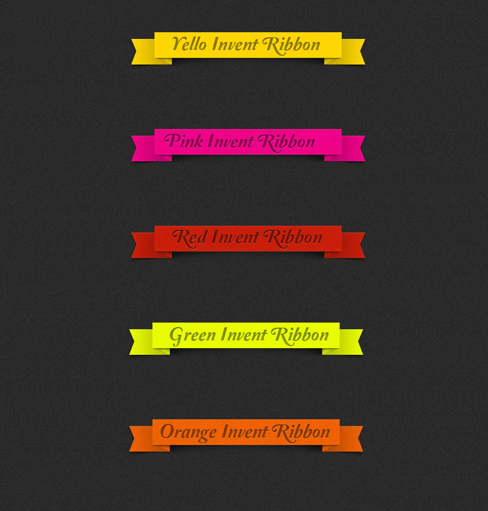 100 free ribbons psd vector files for your designs css author invent classic ribbons baditri Image collections