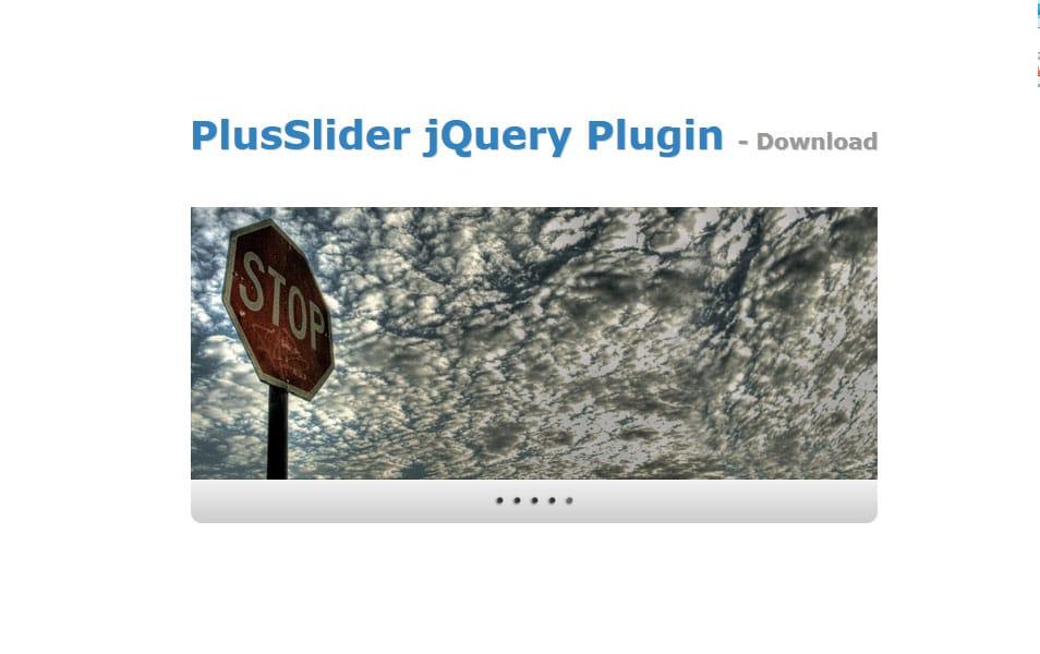 PlusSlider jQuery Plugin