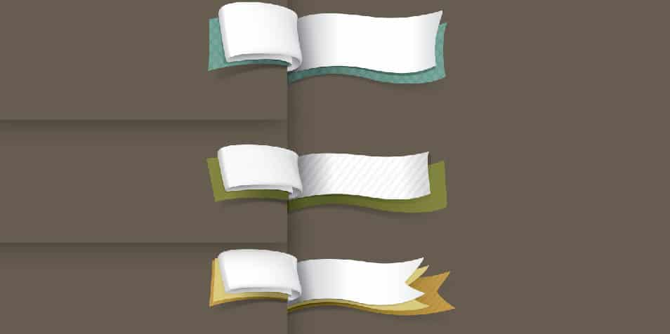 100+ Free Ribbons PSD & Vector Files for your Designs » CSS Author