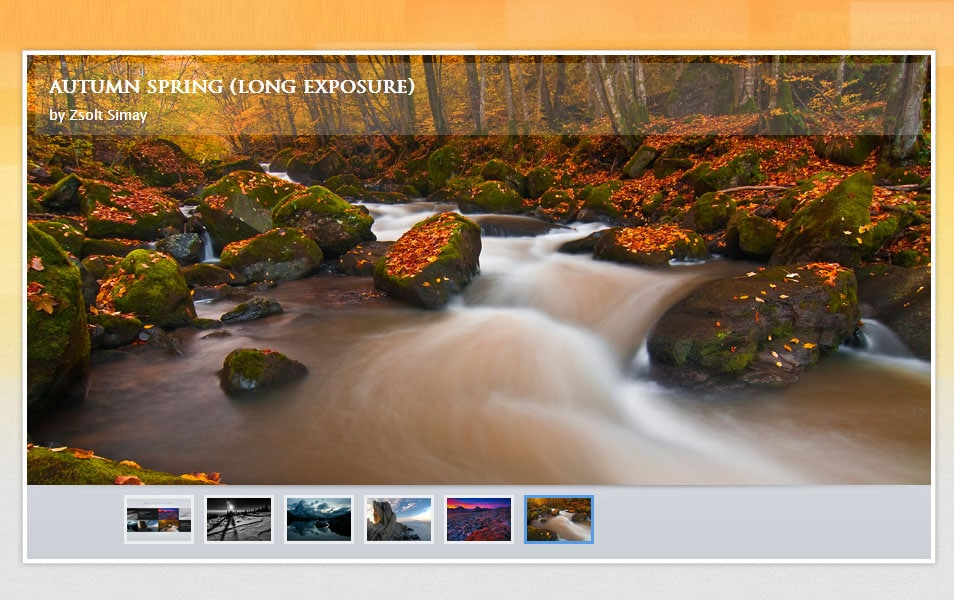 SliderWall – jQuery image slider