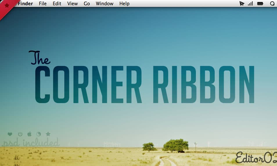 The Corner Ribbon