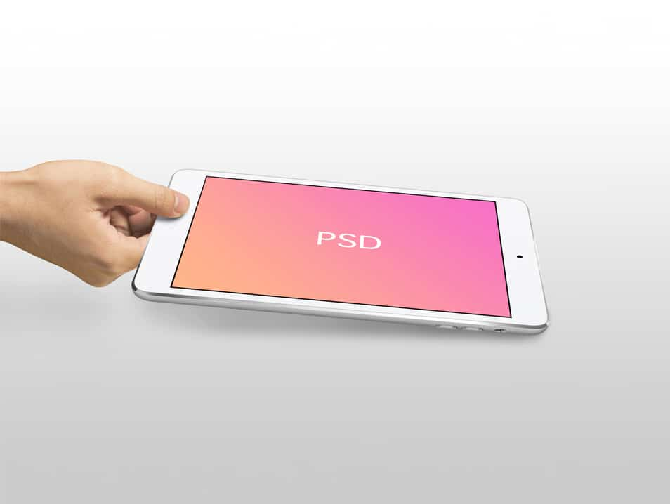 iPad Mini Mockup Template