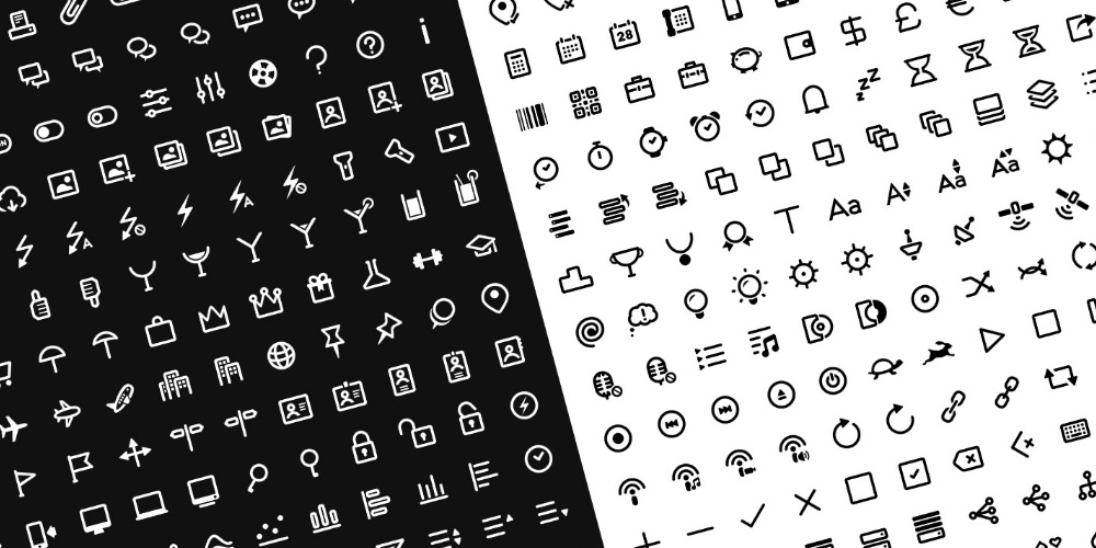100 Free Clear Icons