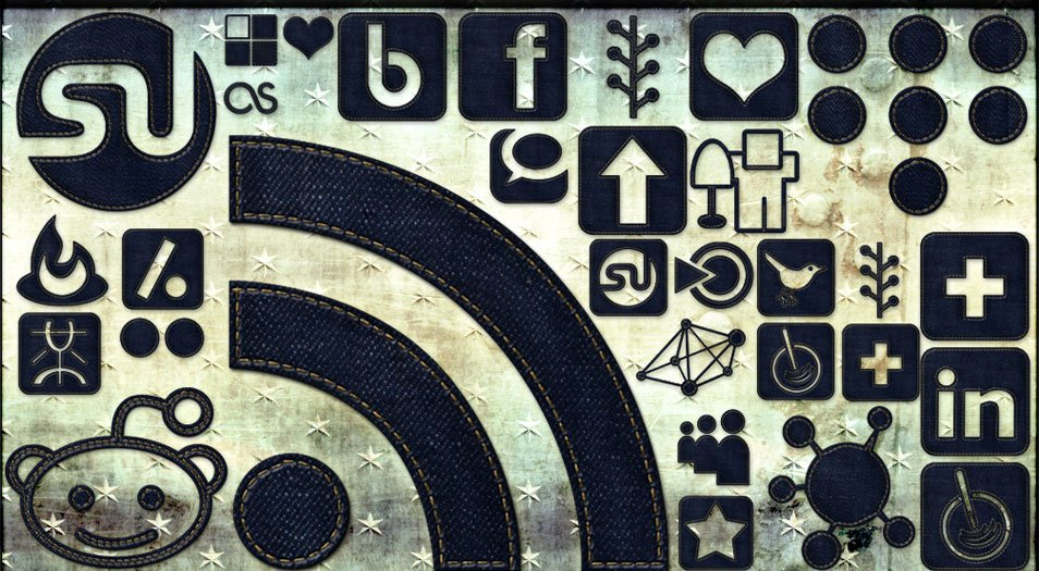 108 High Res Dark Denim Social Media Icons