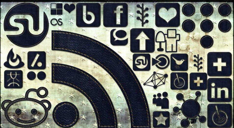 108 High Res Dark Denim Social Media Icons