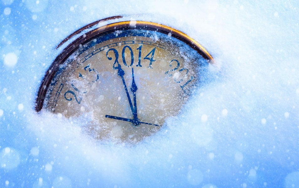 2014 Arrival New Year HD Wallpaper