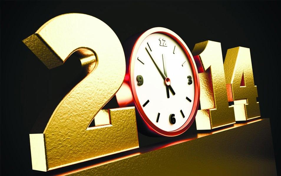 2014 Happy Year HD Wallpaper