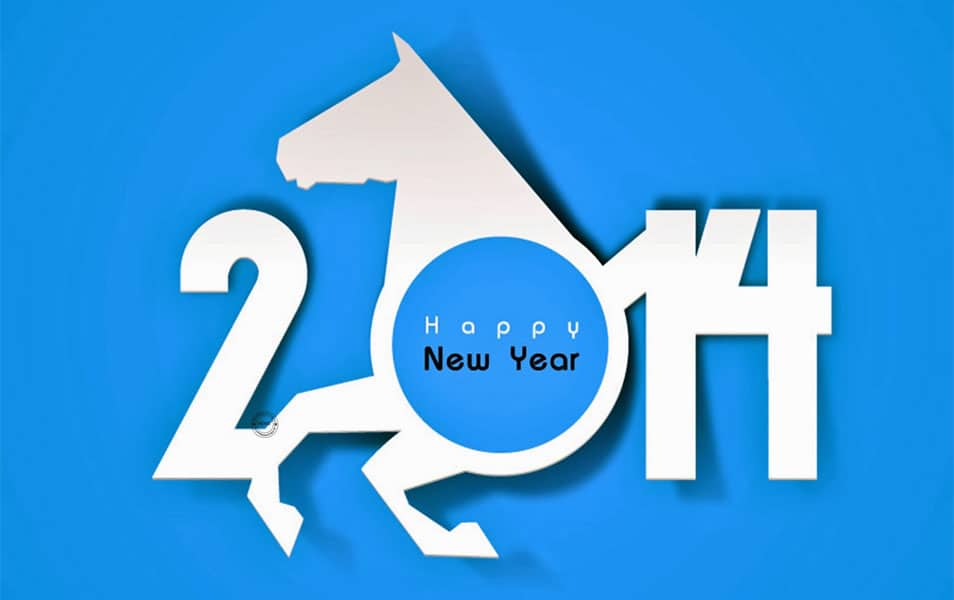 2014 New Year Wallpaper