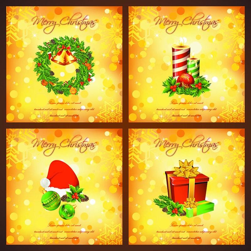 4 Free Christmas Card
