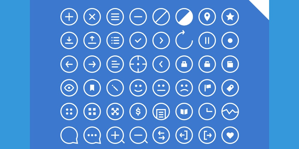 48 Rounded Icons