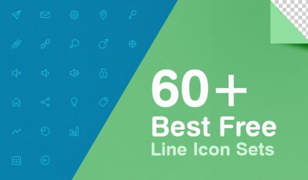 60+ Best Free Line Icon Sets - cssauthor.com