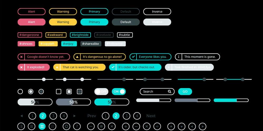 Basics Wireframe Kit