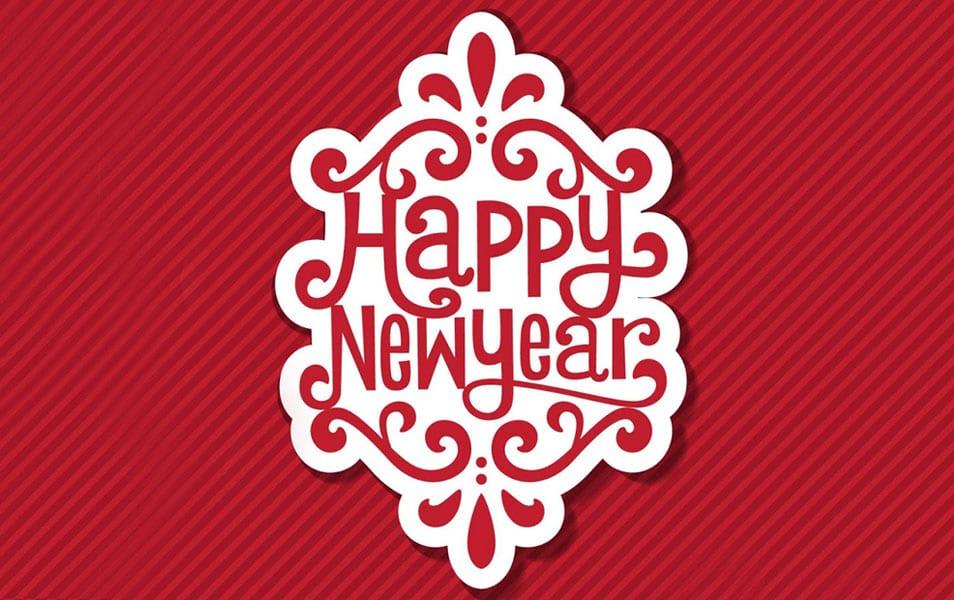 Beautiful Happy New Year 2014 HD Wallpaper