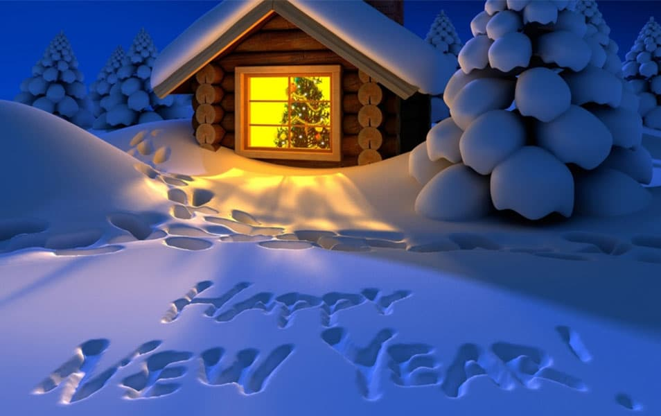 Happy new year wallpaper 2014 hd beautiful house happy new year 2014 voltagebd