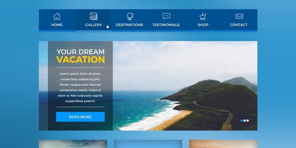 Booking UI Kit PSD