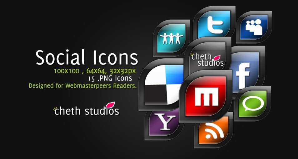 CS Social Icon pack