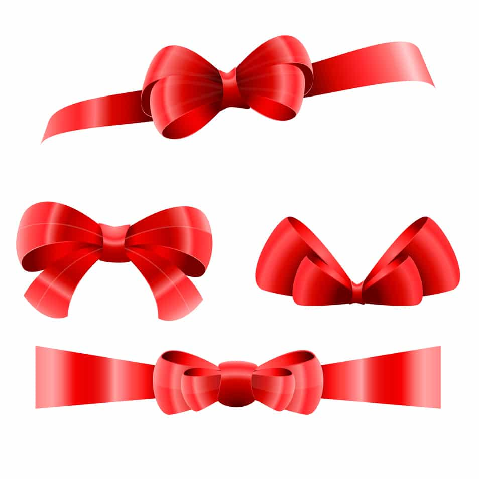 Christmas-Big-Red-Ribbons-Set