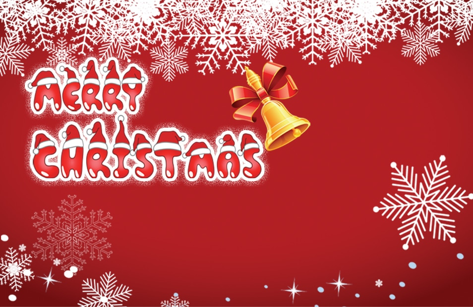 Christmas greeting cards PSD