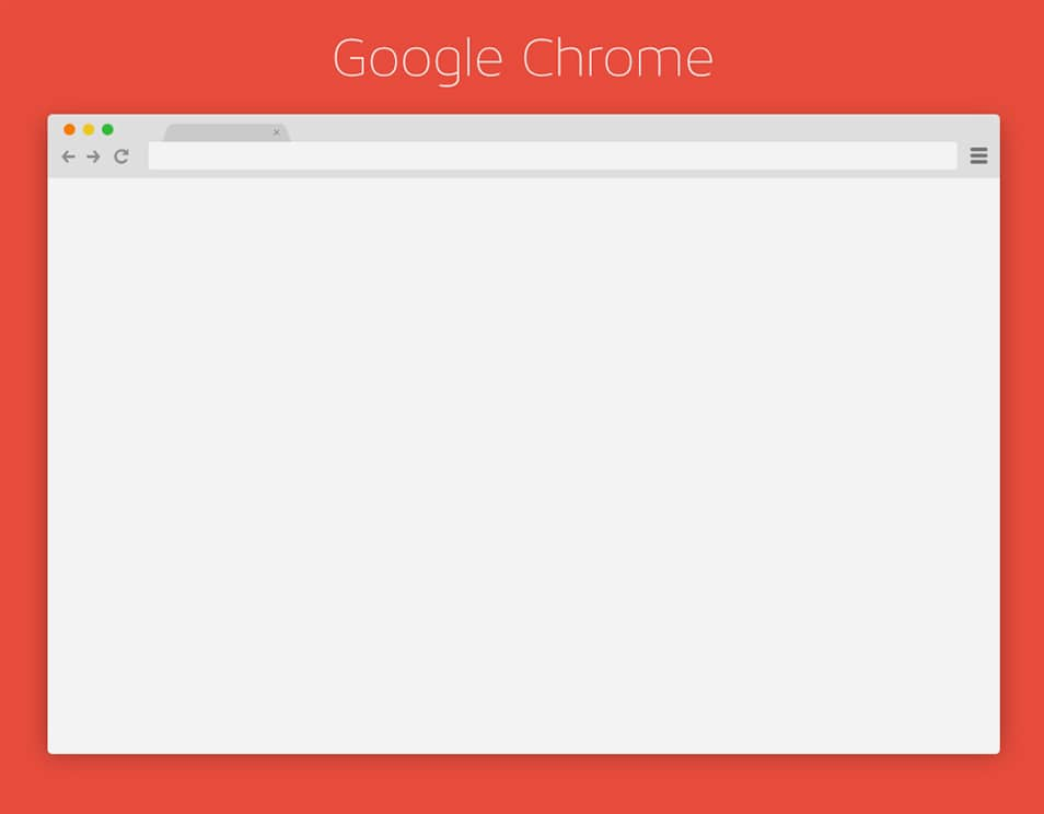 Chrome Browser PSD