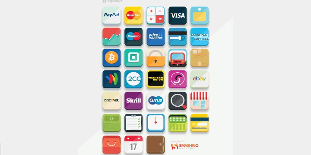 E- Commerce Icon Set