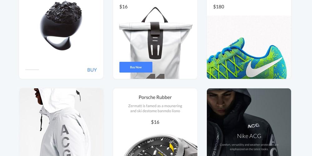 E commerce UI Kit
