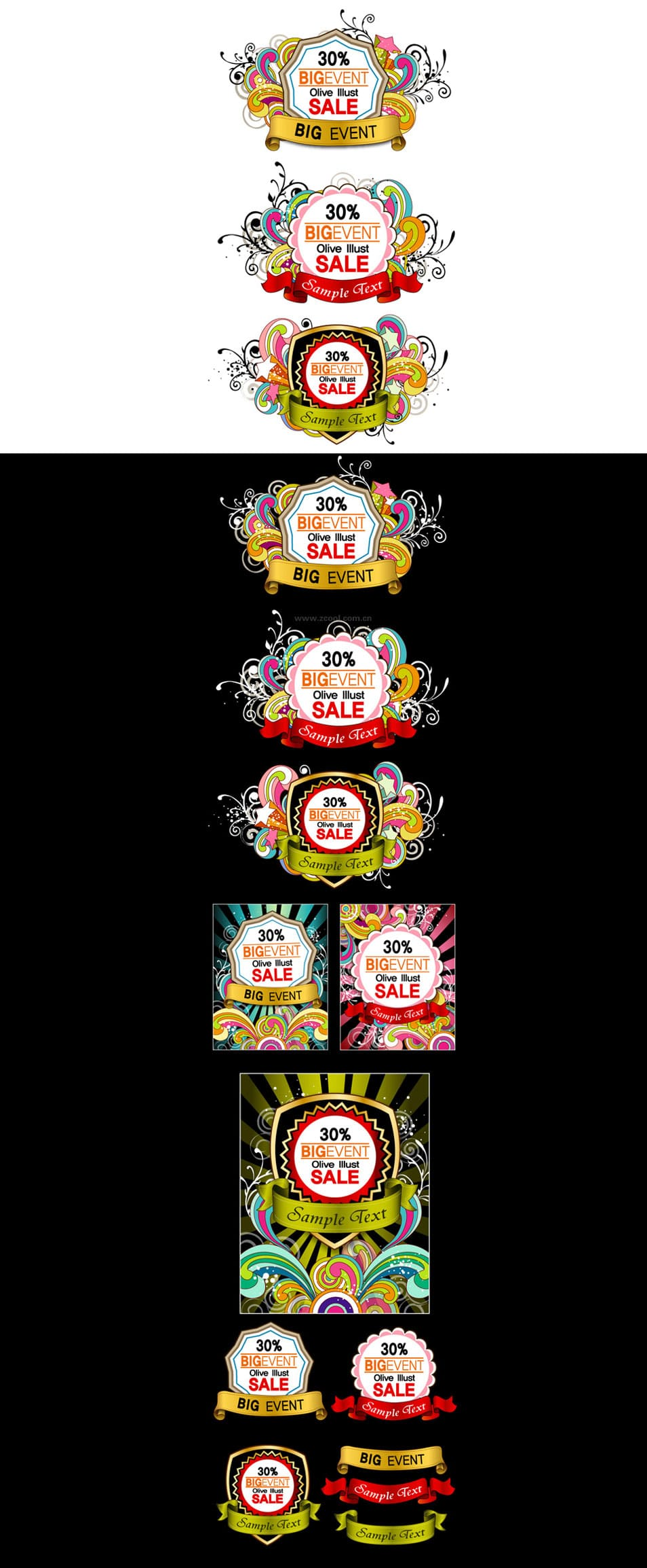 Event Badges