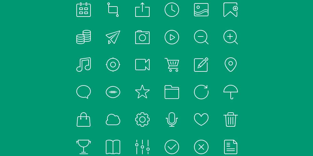 Free 48 px Icons PSD