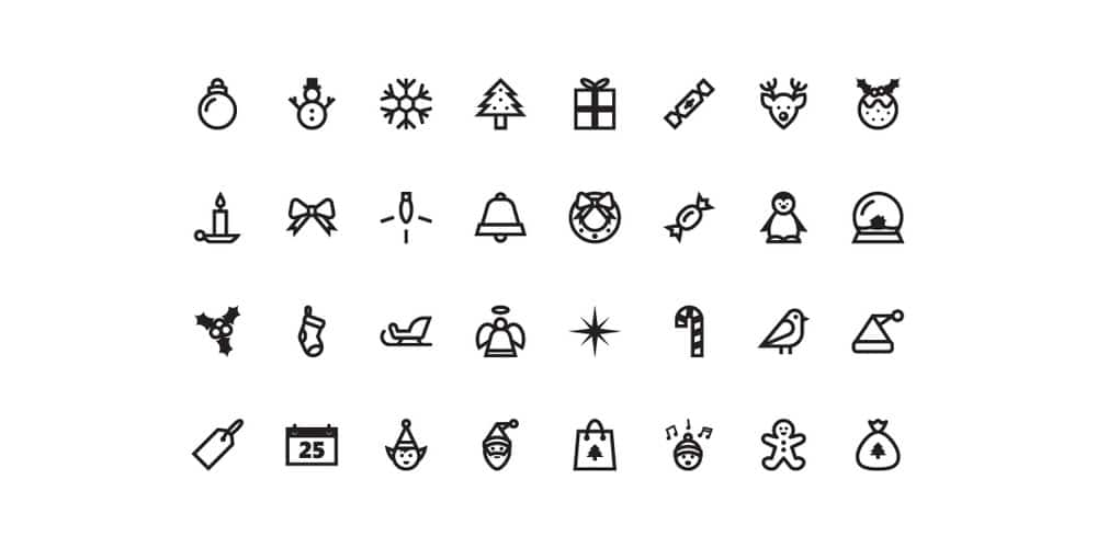 free-christmas-vector-icons