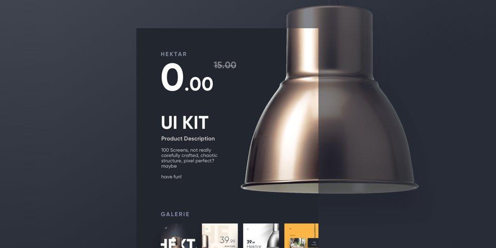 Free Hektar UI Kit